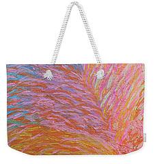 Heart Burst Weekender Tote Bag by Rachel Hannah