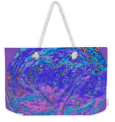 Heart Earth Swirl Weekender Tote Bag