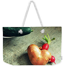 Heart For Lunch Weekender Tote Bag by Marija Djedovic