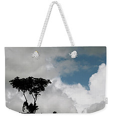 Heart In The Clouds Weekender Tote Bag