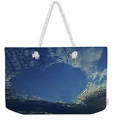 Heart In The Sky Weekender Tote Bag