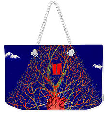 Heart Is The Abode Of The Spirit Weekender Tote Bag by Paulo Zerbato