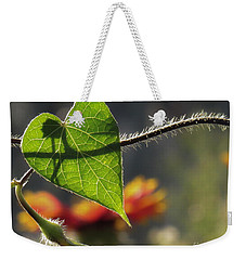 Heart Leaf 1 Weekender Tote Bag