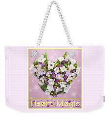 Heart Magic Weekender Tote Bag by Lise Winne
