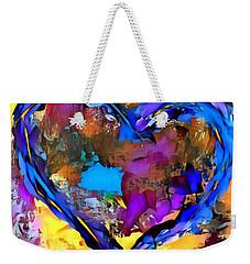 Heart No 7 Weekender Tote Bag