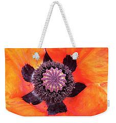 Heart Of A Poppy Weekender Tote Bag