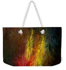 Heart Of Art Weekender Tote Bag by Rushan Ruzaick