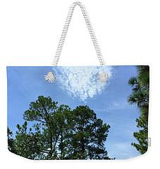 Heart Of Comfort Weekender Tote Bag