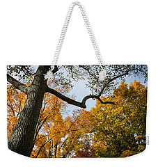 Weekender Tote Bag featuring the photograph Heart Of Fall by Glenn DiPaola