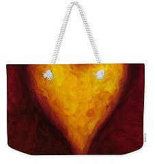 Heart Of Gold 1 Weekender Tote Bag