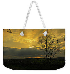 Heart Of Gold Weekender Tote Bag