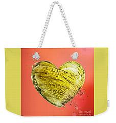 Heart Of Gold Weekender Tote Bag