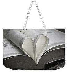 Heart Of The Book  Weekender Tote Bag