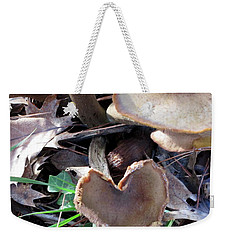 Weekender Tote Bag featuring the photograph Heart Of The Matter Smaller Pic by Marie Neder
