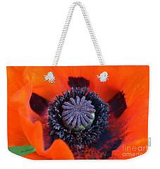 Heart Of The Poppy  Weekender Tote Bag
