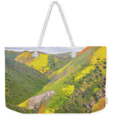 Weekender Tote Bag featuring the photograph Heart Of The Temblor Range by Marc Crumpler