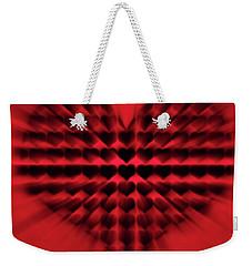 Heart Rays Weekender Tote Bag