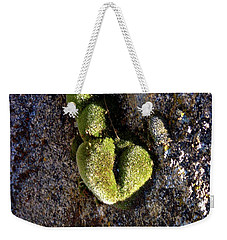 Moss Heart On A Chain Weekender Tote Bag