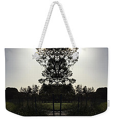 Heart Silhouette  Weekender Tote Bag by Nora Boghossian