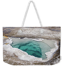 Heart Spring And Lion Geyser Weekender Tote Bag