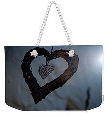 Heart With A Heart II Weekender Tote Bag