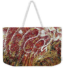 Heartbeat Weekender Tote Bag by Cathy Beharriell