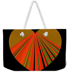 Heartline 5 Weekender Tote Bag by Will Borden