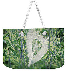 Hearts In Nature - Heart Shaped Web Weekender Tote Bag