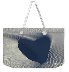 Hearts In The Desert Weekender Tote Bag by Vivian Christopher