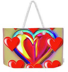 Hearts Of Hearts  Weekender Tote Bag