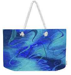Heartsong Blue 1 Weekender Tote Bag