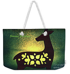 Heartwarming ....altered Images Series Weekender Tote Bag by Lynn England