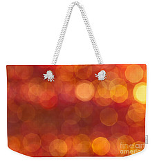 Weekender Tote Bag featuring the photograph Heat by Jan Bickerton