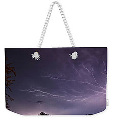 Heat Lightning Weekender Tote Bag