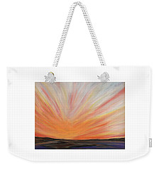 Heat On The Bay Weekender Tote Bag
