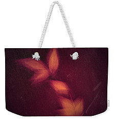 Weekender Tote Bag featuring the photograph Heated by Mark Ross