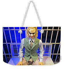 Heath Ledger As The Joker Weekender Tote Bag by John Malone