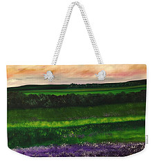 Heathcliff In Purple Weekender Tote Bag