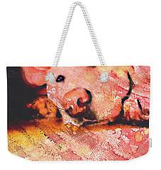 Heather Weekender Tote Bag