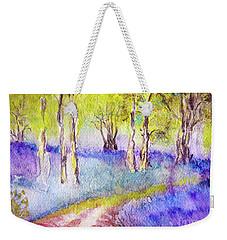 Heather Glade Weekender Tote Bag by Jasna Dragun