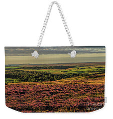 Heather On The Moors Weekender Tote Bag