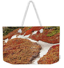 Heather Run Weekender Tote Bag