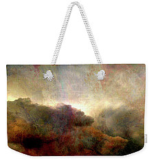 Heaven And Earth - Abstract Art Weekender Tote Bag