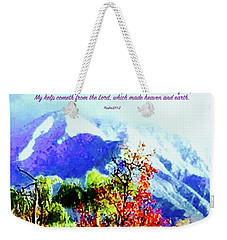 Heaven And Earth Weekender Tote Bag by Russell Keating