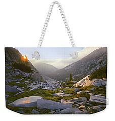 Heaven Can't Wait Weekender Tote Bag