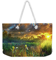 Heaven Knows Weekender Tote Bag by Phil Koch