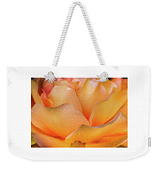 Weekender Tote Bag featuring the photograph Heaven Scent by Karen Wiles