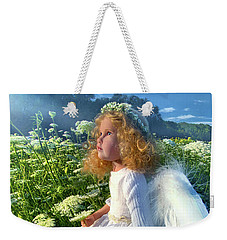Weekender Tote Bag featuring the photograph Heaven Sent by Phil Koch