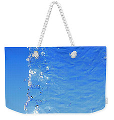 Weekender Tote Bag featuring the photograph Waterfall by Ray Shrewsberry