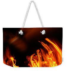 Heavenly Flame Weekender Tote Bag